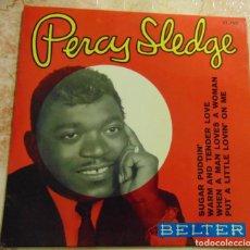 Discos de vinilo: PERCY SLEDGE – WHEN A MAN LOVES A WOMAN - EP 1966. Lote 197803127