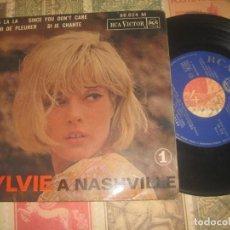 Discos de vinilo: SYLVIE VARTAN - A NASHVILLE - EP FRANCE(RCA 1963 ) OG FRANCIA LEA DESCRIPCION. Lote 197823190