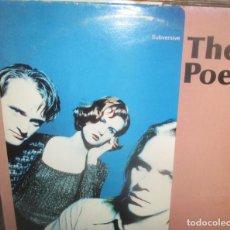 Discos de vinilo: THE POETS - MAXI 4 TEMAS - SUBVERSIVE -. Lote 197825852