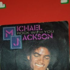 Discos de vinilo: MICHAEL JACKSON 'ROCK WITH YOU' 1979 SINGLE. Lote 197829320
