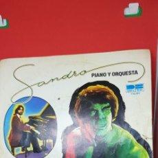 Discos de vinilo: SANDRO, PIANO Y ORQUESTA 'EL INCREIBLE HULK' 1981. Lote 197829768
