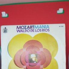 Discos de vinilo: WALDO DE LOS RÍOS 'MOZARTMANÍA' 1971 SINGLE. Lote 197831273