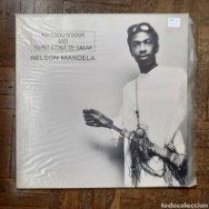 Discos de vinilo: YOUSSOU N'DOUR. NELSON MANDELA. ROUGH TRADE 43293L. 1986.. Lote 197841361