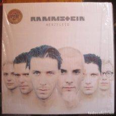 Discos de vinilo: RAMMSTEIN - HERZELEID PICTURE VINYL. Lote 197843178