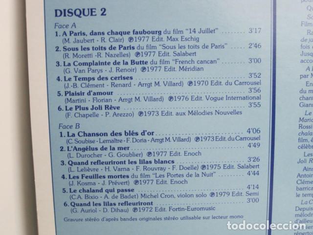 Discos de vinilo: LP JACK LANTIER. LES PLUS JOLIES CHANSONS FRANçAISES. 10 DISQUES. 1982. VOGUE P.I.P. - Foto 10 - 197855537
