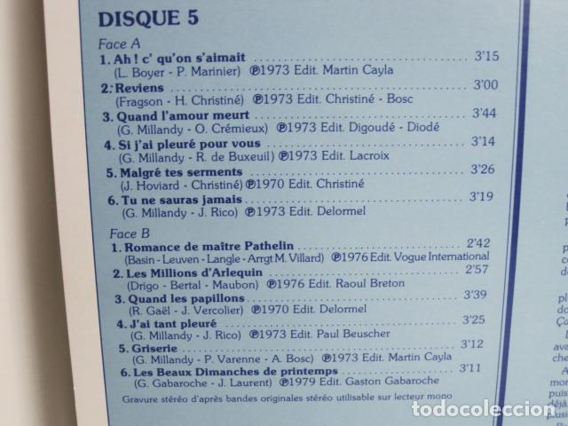 Discos de vinilo: LP JACK LANTIER. LES PLUS JOLIES CHANSONS FRANçAISES. 10 DISQUES. 1982. VOGUE P.I.P. - Foto 13 - 197855537