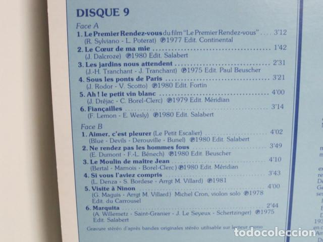 Discos de vinilo: LP JACK LANTIER. LES PLUS JOLIES CHANSONS FRANçAISES. 10 DISQUES. 1982. VOGUE P.I.P. - Foto 17 - 197855537