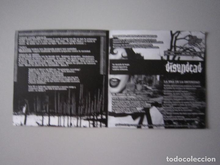 Discos de vinilo: SPLIT CRUST- ATEH Y DISUNDEAD - 2005 - BARCELONA - Foto 3 - 197856556