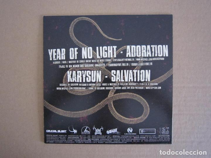 Discos de vinilo: SPLIT H.C. / DOOM METAL - KARYSUN Y YEAR OF NO LIGHT - 2005 - Foto 2 - 197858015