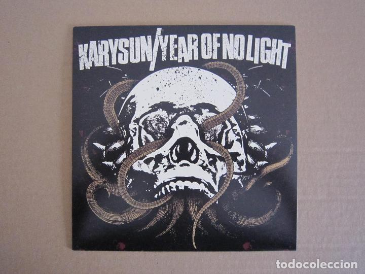 SPLIT H.C. / DOOM METAL - KARYSUN Y YEAR OF NO LIGHT - 2005 (Música - Discos de Vinilo - EPs - Punk - Hard Core)