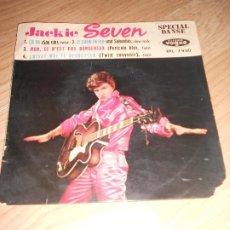 Discos de vinilo: JACKIE SEVEN - ÇA VA / LE COEUR EN FEU - VOGUE. Lote 197348555