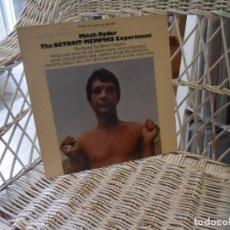 Discos de vinilo: MITCH RYDER – THE DETROIT - MEMPHIS EXPERIMENT.LP ORIGINAL USA 1969.DOT RECORDS – DLP 25963 . Lote 197868156