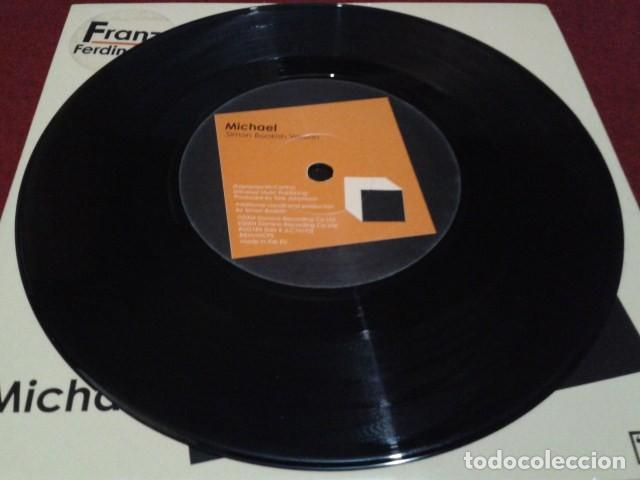 SINGLE VINILO ( FRANZ FERDINAND – MICHAEL ) 2004 DOMINO ART ROCK, POP ROCK, INDIE ROCK (Música - Discos - Singles Vinilo - Pop - Rock Internacional de los 90 a la actualidad)