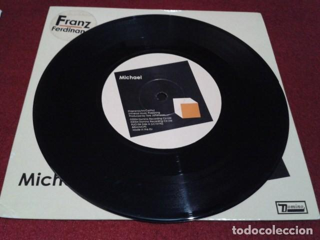 Discos de vinilo: SINGLE VINILO ( Franz Ferdinand – Michael ) 2004 domino Art Rock, Pop Rock, Indie Rock - Foto 4 - 197876738