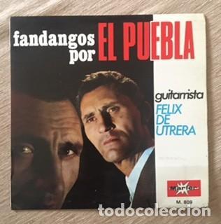 EL PUEBLA Y FÉLIX DE UTRERA - FANDANGOS (Música - Discos de Vinilo - EPs - Flamenco, Canción española y Cuplé)