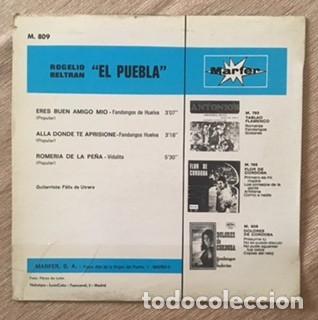Discos de vinilo: EL PUEBLA Y FÉLIX DE UTRERA - FANDANGOS - Foto 2 - 197880818