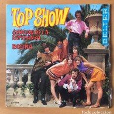 Discos de vinilo: TOP SHOW - CANCIÓN DE LA ESPERANZA - BELTER, 1968. Lote 197907860