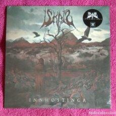 Discos de vinilo: ISKALD - INNHØSTINGA 12'' LP PRECINTADO - BLACK METAL THRASH METAL. Lote 197913021