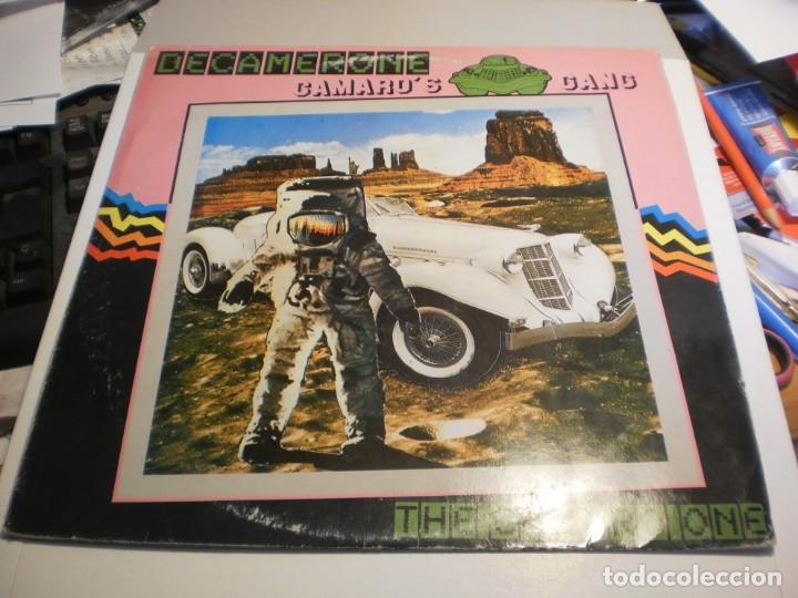 LP CAMARO'S GANG. DECAMERONE. VICTORIA 1985 SPAIN (PROBADO Y BIEN) (Música - Discos - LP Vinilo - Electrónica, Avantgarde y Experimental)
