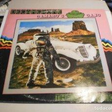 Discos de vinilo: LP CAMARO'S GANG. DECAMERONE. VICTORIA 1985 SPAIN (PROBADO Y BIEN). Lote 197916055