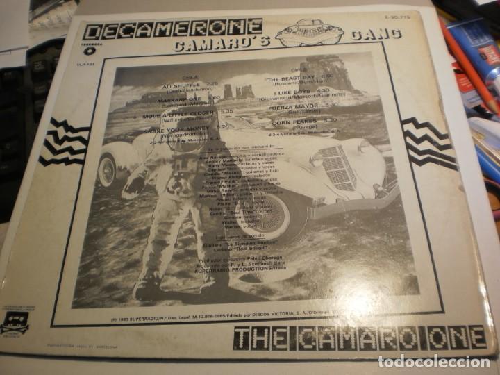 Discos de vinilo: lp camaros gang. decamerone. victoria 1985 spain (probado y bien) - Foto 2 - 197916055