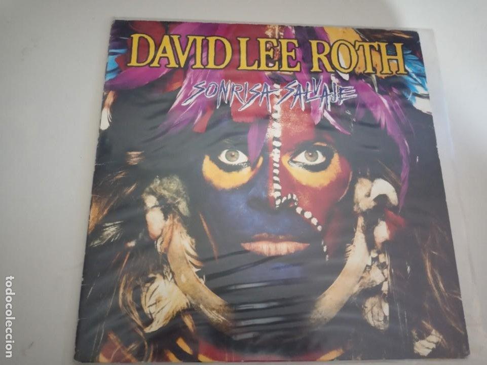 DAVID LEE ROTH – SONRISA SALVAJE LP (Música - Discos - LP Vinilo - Grupos Españoles de los 70 y 80)