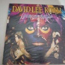 Discos de vinilo: DAVID LEE ROTH – SONRISA SALVAJE LP. Lote 197941673