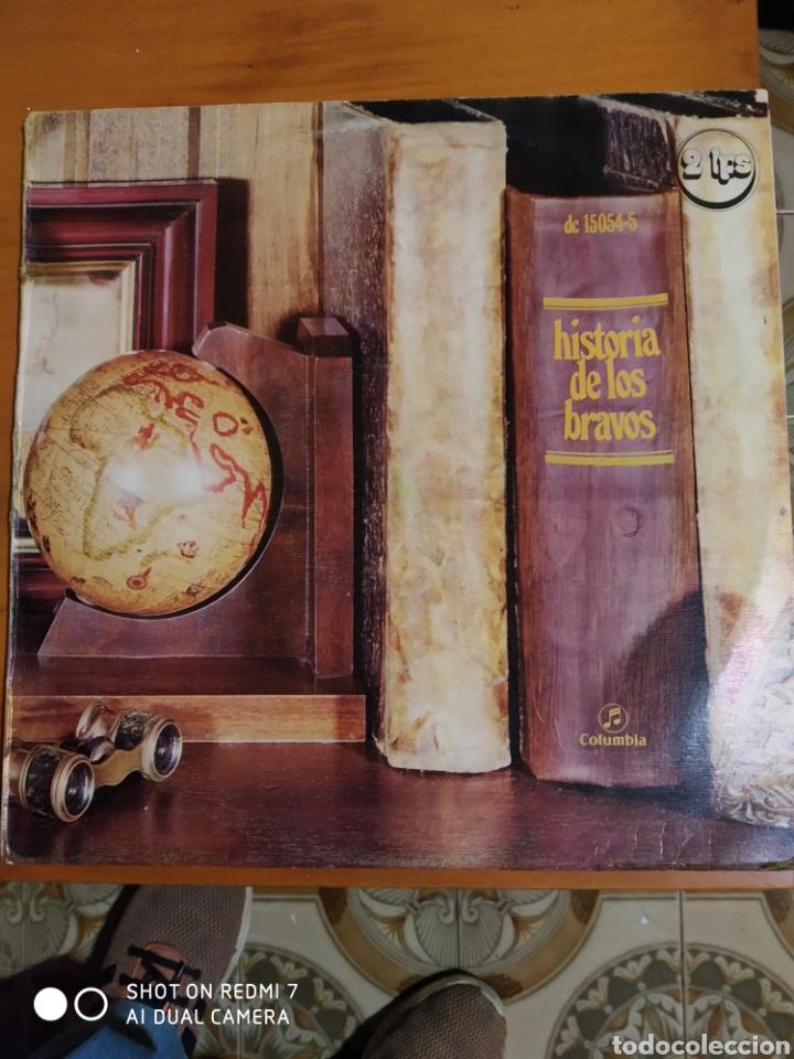HISTORIA DE LOS BRAVOS. LP DOBLE 1974 (Música - Discos - LP Vinilo - Rock & Roll)