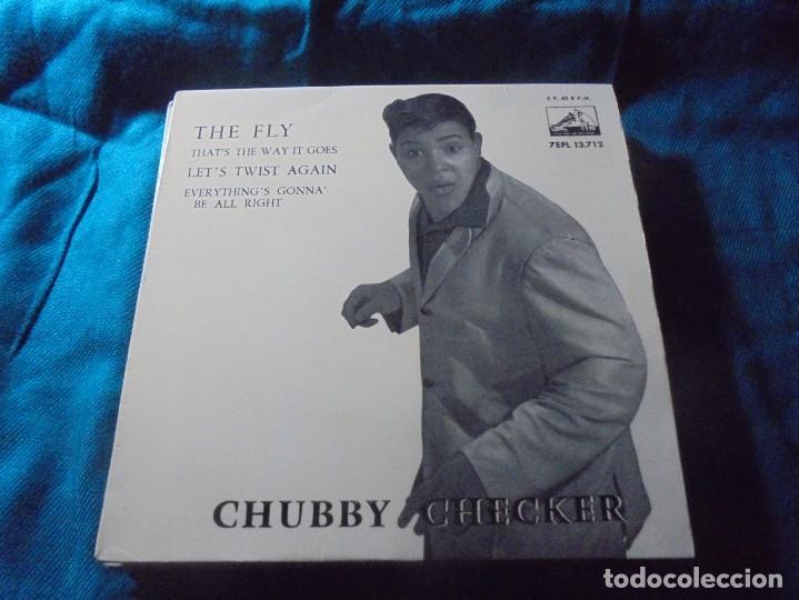 CHUBBY CHECKER. THE FLY + 3. EP. LA VOZ DE SU AMO, 1962. (Música - Discos de Vinilo - EPs - Funk, Soul y Black Music)