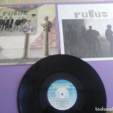 Discos de vinilo: JOYA MUY RARO LP ORIGINAL. RUFUS (4) – RUFUS.SELLO FONOMUSIC 20.2105.+ENCARTE CON LETRAS.. Lote 197954620