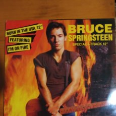 Discos de vinilo: BRUCE SPRINGSTEEN. BORN IN THE U.S.A. MAXI SINGLE. Lote 197959528