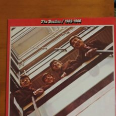 Discos de vinilo: THE BEATLES. EL ROJO DOBLÉ LP. Lote 197970135