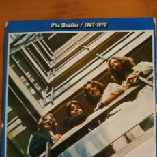 Discos de vinilo: THE BEATLES. EL AZUL DOBLE LP. Lote 197970146