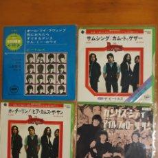 Discos de vinilo: 4 SINGLES EDICIÓN JAPONESAS DE BEATLES . VER FOTOS. Lote 197970730