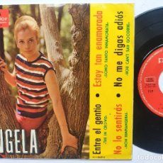 Discos de vinilo: ANGELA - EP SPAIN PS - YOU CAN'T SAY GOODBYE - ENTRE EL GENTIO - POLYDOR 1965. Lote 197975411