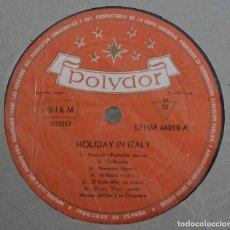 Discos de vinilo: DISCO VINILO LP ALBUM POLYDOR: HOLIDAY IN ITALY VER TITULOS DE LOS TEMAS EN FOTOGRAFIAS. Lote 197978727