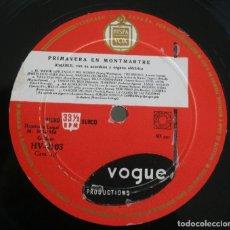 Discos de vinilo: DISCO VINILO LP ALBUM HISPAVOX: PRIMAVERA EN MONTMARTRE AIMABLE CON SU ACORDEON Y ORGANO VER TITULOS. Lote 197979963