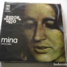 Discos de vinilo: MINA AMOR MIO (MINA CANTA EN ESPAÑOL). Lote 219359797