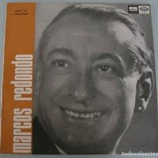 Discos de vinilo: DISCO VINILO LP ALBUM ODEON: MARCOS REDONDO ANTOLOGIA DE LA ZARZUELA VER TITULOS DE LOS TEMAS . Lote 198015312