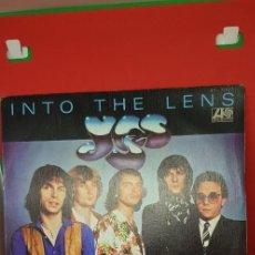 Discos de vinilo: YES 'INTO THE LENS' SINGLE 1980. Lote 198019281