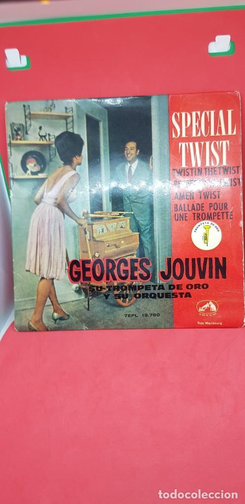 GEORGES JOUVIN Y SU ORQUESTA 'SPECIALTWIST' EPL 1962 (Música - Discos de Vinilo - EPs - Orquestas)