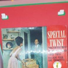 Discos de vinilo: GEORGES JOUVIN Y SU ORQUESTA 'SPECIALTWIST' EPL 1962. Lote 198019756