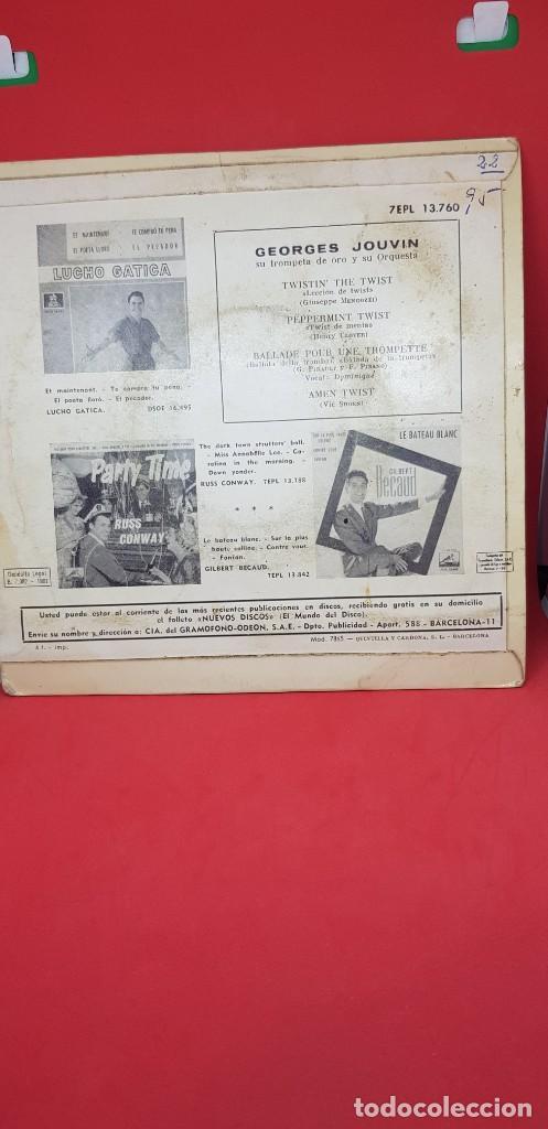 Discos de vinilo: GEORGES JOUVIN Y SU ORQUESTA SPECIALTWIST EPL 1962 - Foto 2 - 198019756