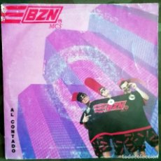Discos de vinilo: BZN – AL CONTADO PROMO SPAIN 1990 SCRATCH. Lote 198019860