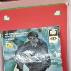 Discos de vinilo: ADAMO 'MIS MANOS EN TU CINTURA' CANTA EN ESPAÑOL EP 1966. Lote 198020013