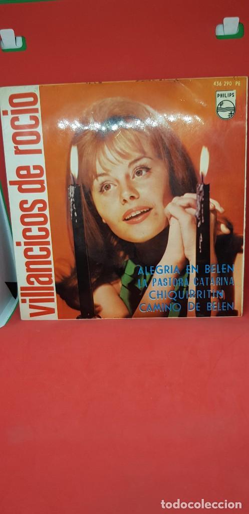 ROCÍO DÚRCAL EP VILLANCICOS 1964 -ALEGRÍA EN BELÉN/LA PASTORA CATARINA/CHIQUIRRITÍN/CAMINO DE BELÉN (Música - Discos de Vinilo - EPs - Solistas Españoles de los 50 y 60)