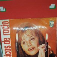 Discos de vinilo: ROCÍO DÚRCAL EP VILLANCICOS 1964 -ALEGRÍA EN BELÉN/LA PASTORA CATARINA/CHIQUIRRITÍN/CAMINO DE BELÉN. Lote 198020708