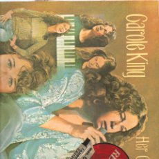 Discos de vinilo: 1478. CAROLE KING. HER GREATEST HITS. Lote 198023270