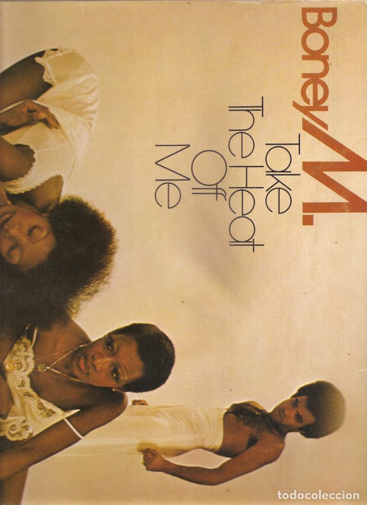 1480. BONEY M. TAKE THE HEAT OF ME (Música - Discos de Vinilo - EPs - Rock & Roll)