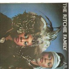 Discos de vinilo: 1482. THE RITCHIE FAMILY. ARABIAN NIGHTS. Lote 198023931
